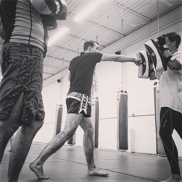 Chicago Muay Thai Instructor, Matt